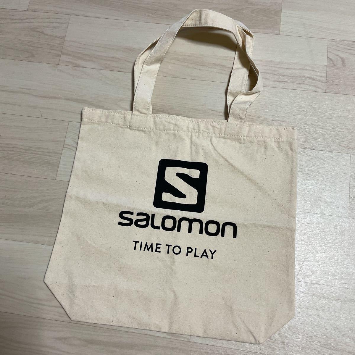 【未使用】サロモン トートバッグ