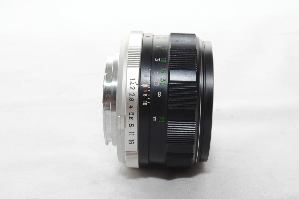 ★実用美品★ MINOLTA ミノルタ MC ROKKOR PF 58mm F1.4 #3570_画像3