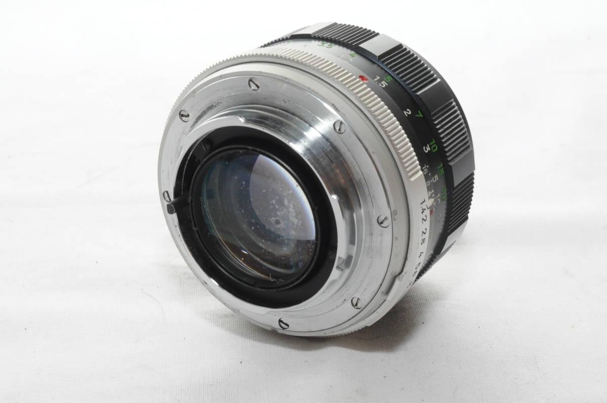 ★実用美品★ MINOLTA ミノルタ MC ROKKOR PF 58mm F1.4 #3570_画像2