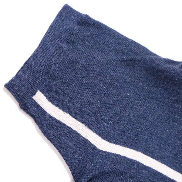 【新品 未使用】 BEAMS BOY ビームス ボーイ 変形♪ 半袖 ゆったり セーラー リネン ニット カットソー Sz.F レディース D1T01046_7#J_画像3