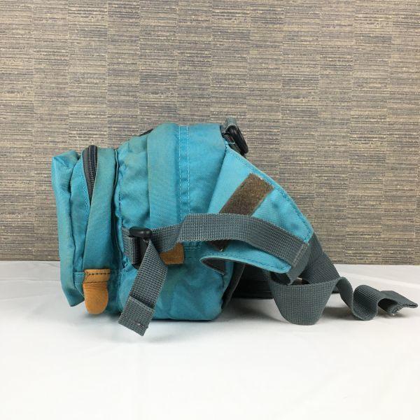 Karrimor/カリマー ウエストポーチ/ボディーバッグ 緑 ナイロン 管NO.B23-29