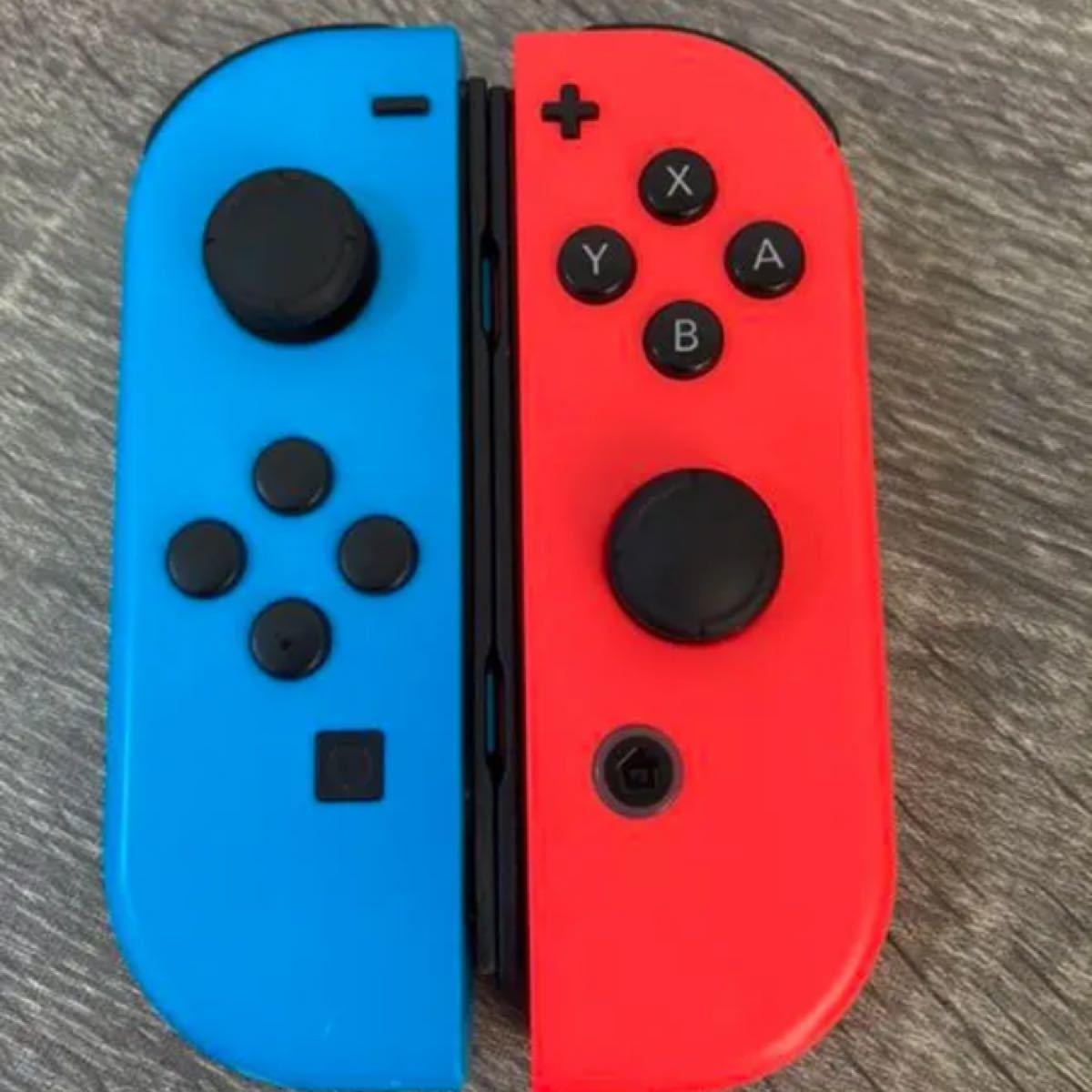 Nintendo Switch ジョイコン joy-con ネオンブルーレッドU