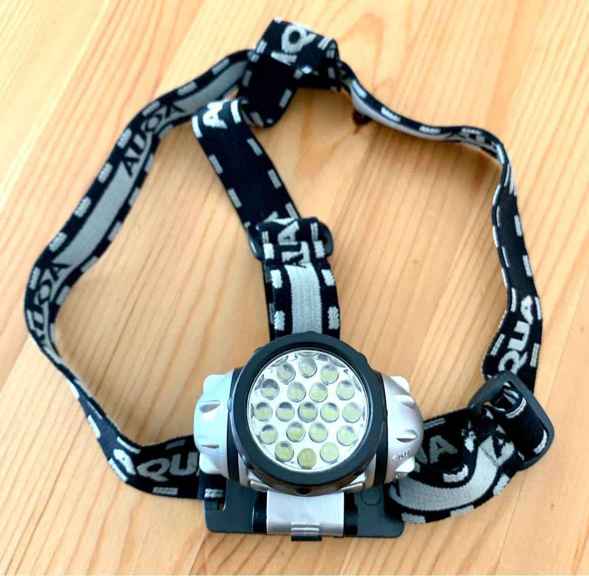 LED ヘッドライト 懐中電灯 ハンディライト 軽量コンパクト アウトドア防災用