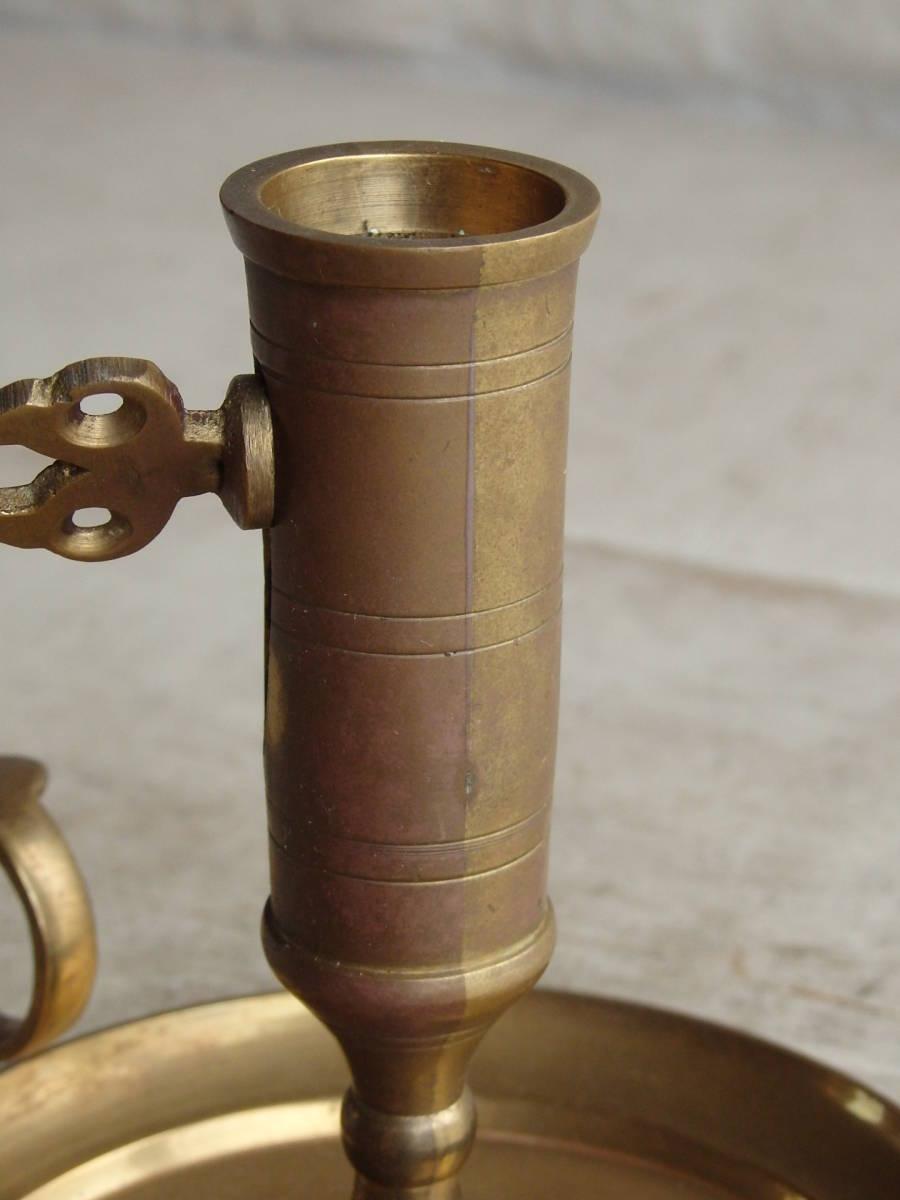 フランスアンティーク キャンドルスタンド 燭台 蚤の市 ブロカント ゴールド インテリア ディスプレイ 飾り 上下 真鍮_画像8