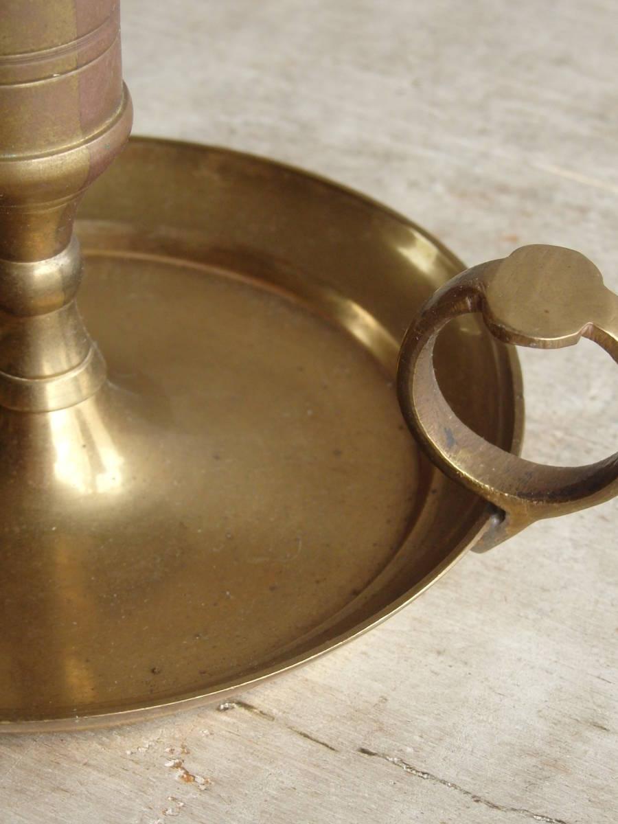 フランスアンティーク キャンドルスタンド 燭台 蚤の市 ブロカント ゴールド インテリア ディスプレイ 飾り 上下 真鍮_画像10