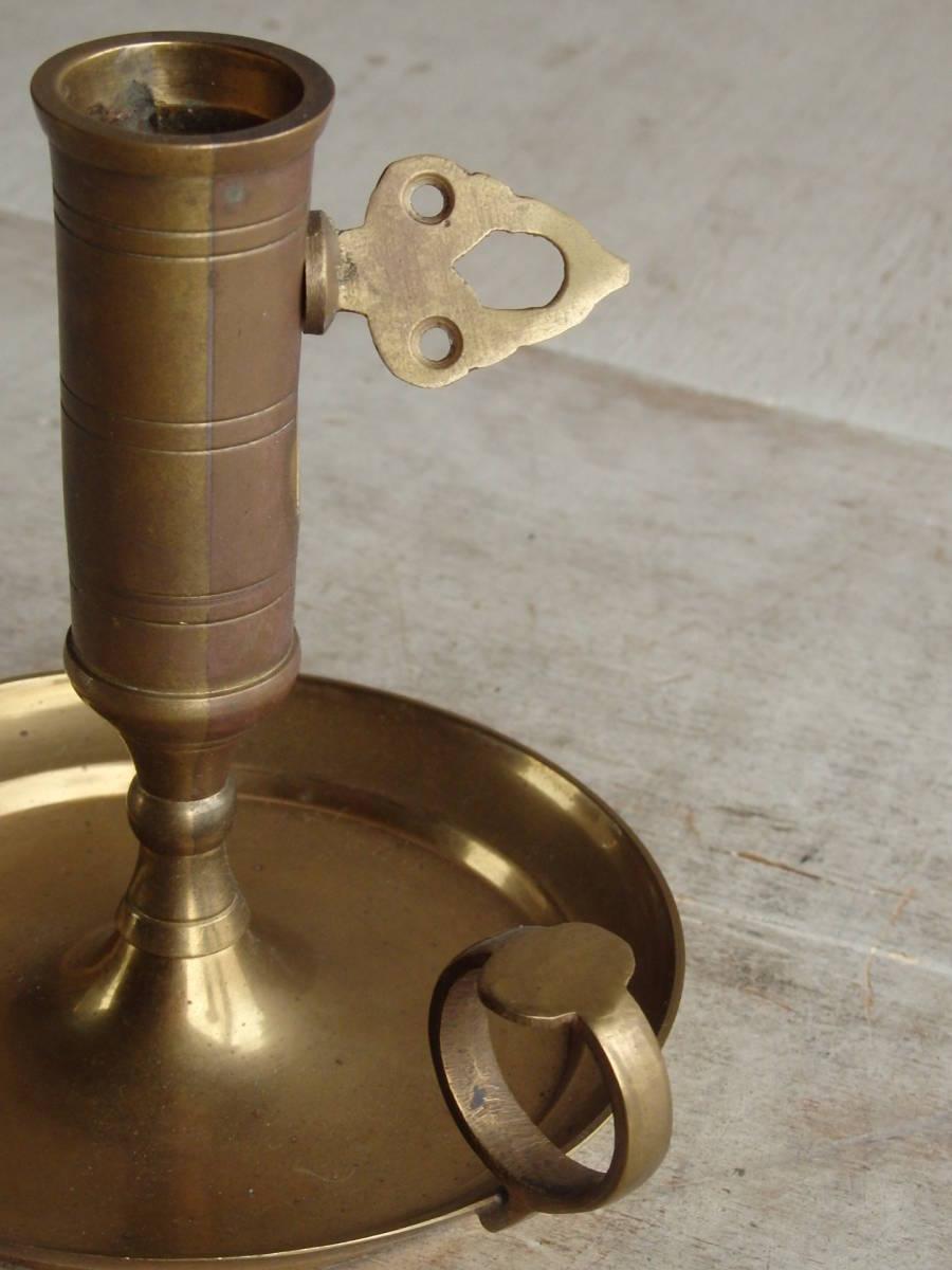 フランスアンティーク キャンドルスタンド 燭台 蚤の市 ブロカント ゴールド インテリア ディスプレイ 飾り 上下 真鍮_画像9