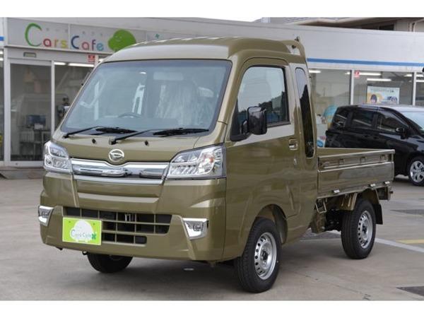 「ハイゼットトラック 660 ジャンボ SAIIIt 3方開 4WD 5MT ブルーレイ搭載ナビETCマット付」の画像1