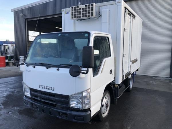 「エルフ 2tショート2層式-30℃低温冷凍車5速MT4WD」の画像1