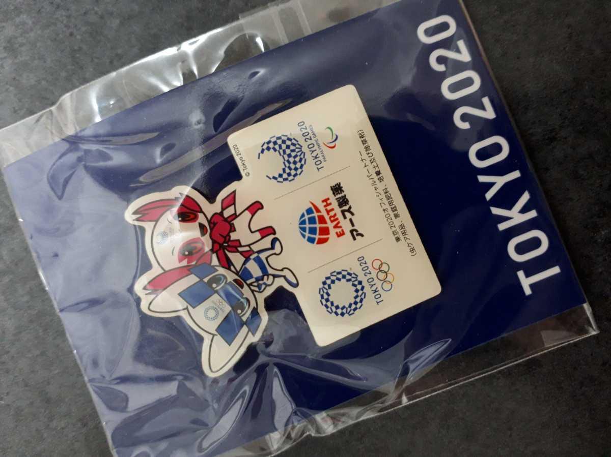 東京オリンピック ピンバッチ ピンバッジ  2020 アース製薬 ミライトワ ピンズ 未使用