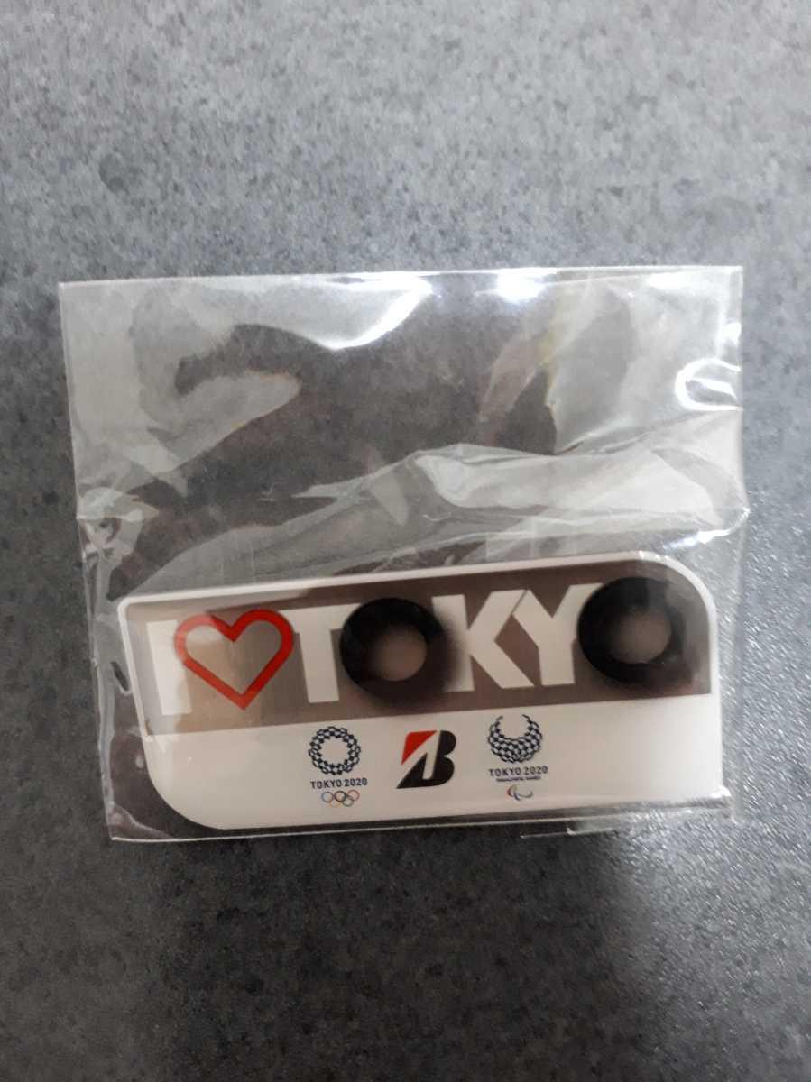 東京オリンピック ピンバッチ ピンバッジ 2020 ブリジストン ピンズ 未使用