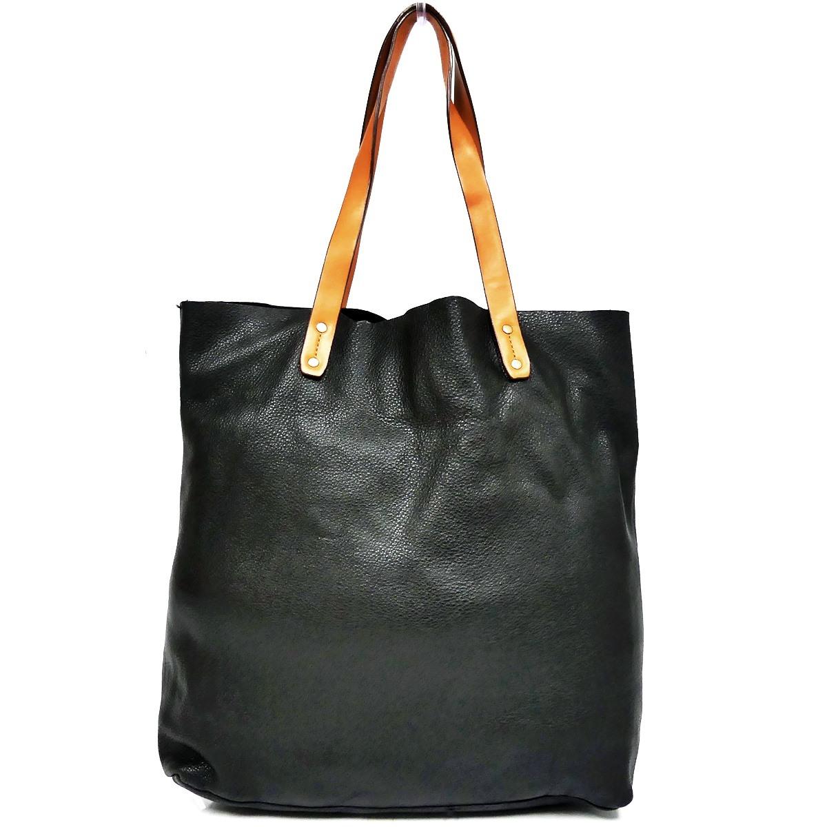 即決★GAP★オールレザートートバッグ ギャップ メンズ 黒 本革 ハンドバッグ 本皮 かばん 通勤 トラベル 出張 手提げバッグ 鞄 レディース_画像2