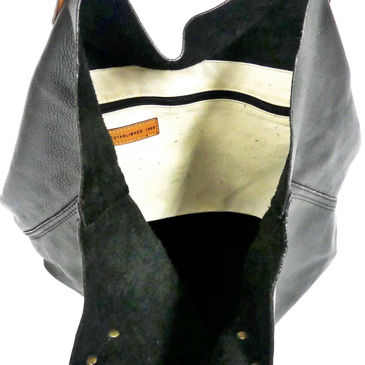 即決★GAP★オールレザートートバッグ ギャップ メンズ 黒 本革 ハンドバッグ 本皮 かばん 通勤 トラベル 出張 手提げバッグ 鞄 レディース_画像8