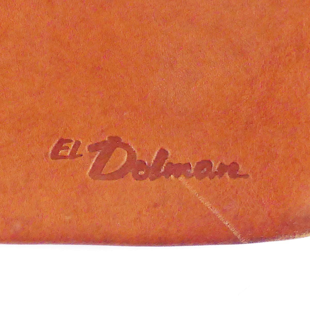 即決★EL Dolman★レザーハンドバッグ ドルマン メンズ 茶 本革 トートバッグ 本皮 かばん 鞄 レディース 手提げバッグ_画像10