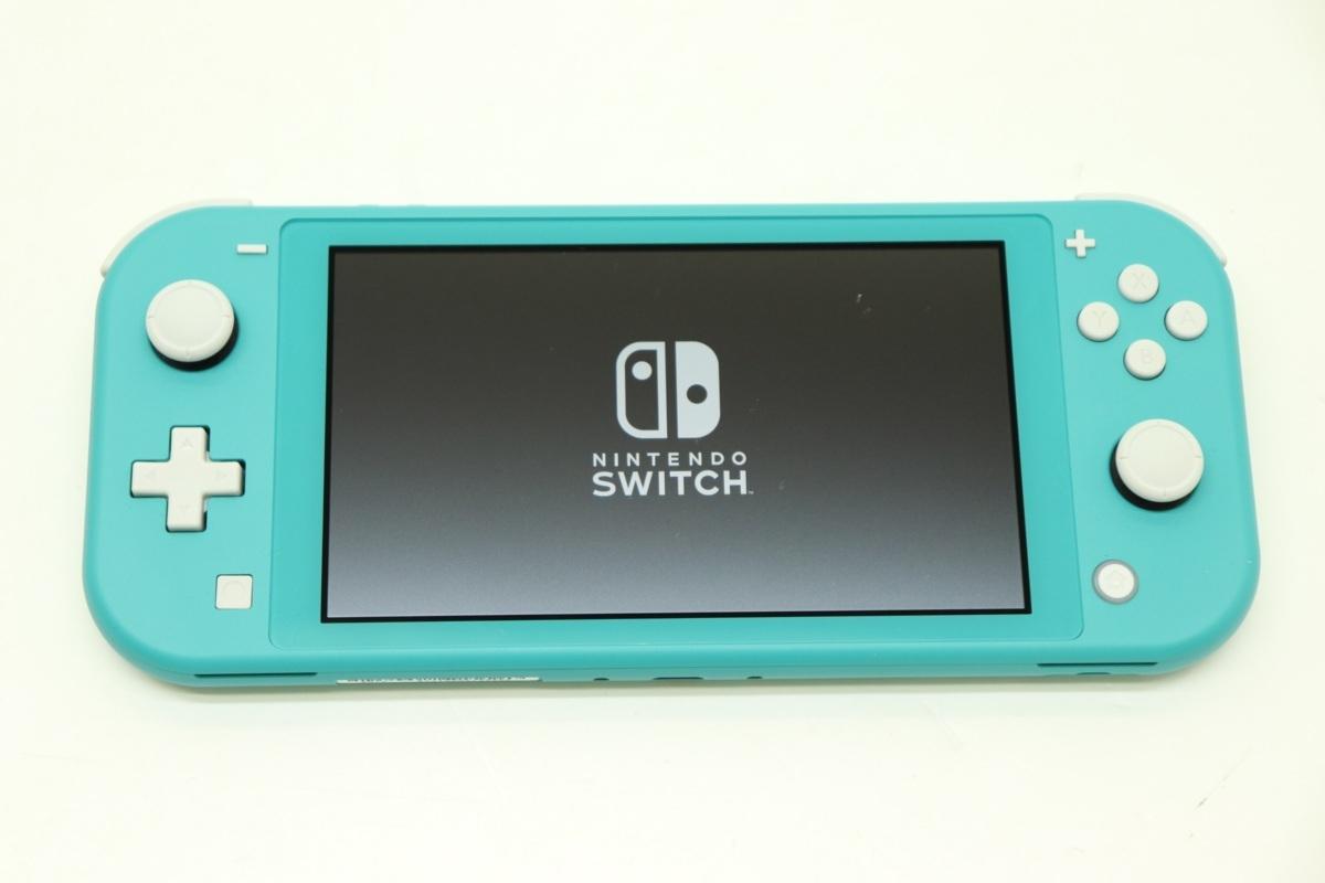 25EY●Nintendo Switch Lite 本体 ターコイズ Ver.12.1.0 ニンテンドースイッチ 任天堂 中古 動作確認済み 初期化済み_画像8