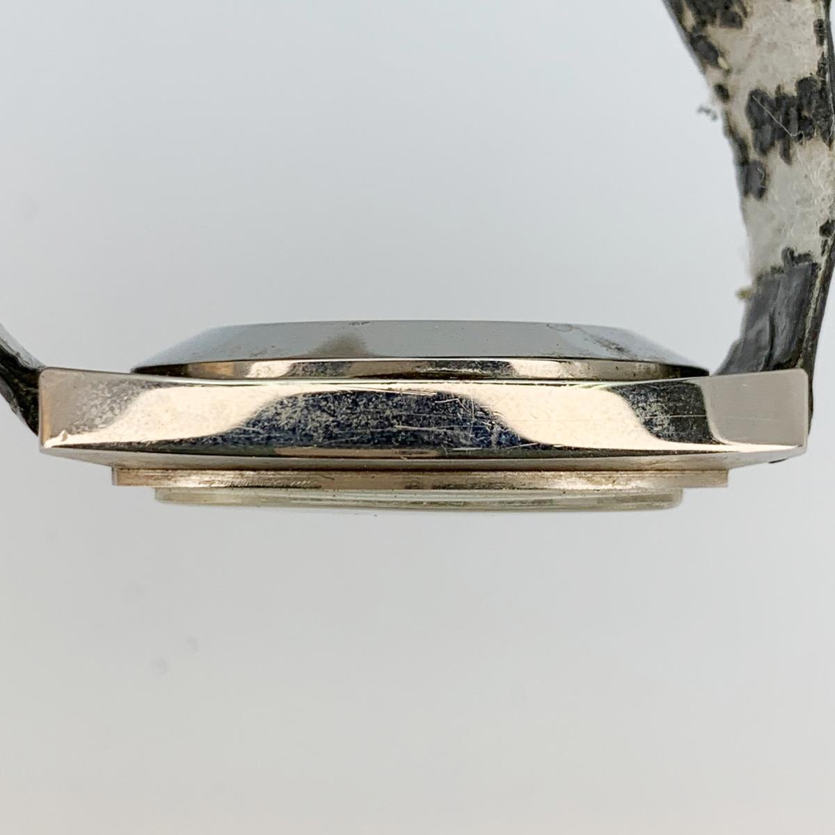 値下げ Universal Geneve ユニバーサルジュネーヴ 853106 Vintage Unisonic Men's Watch 音叉時計 メンズ U_画像7