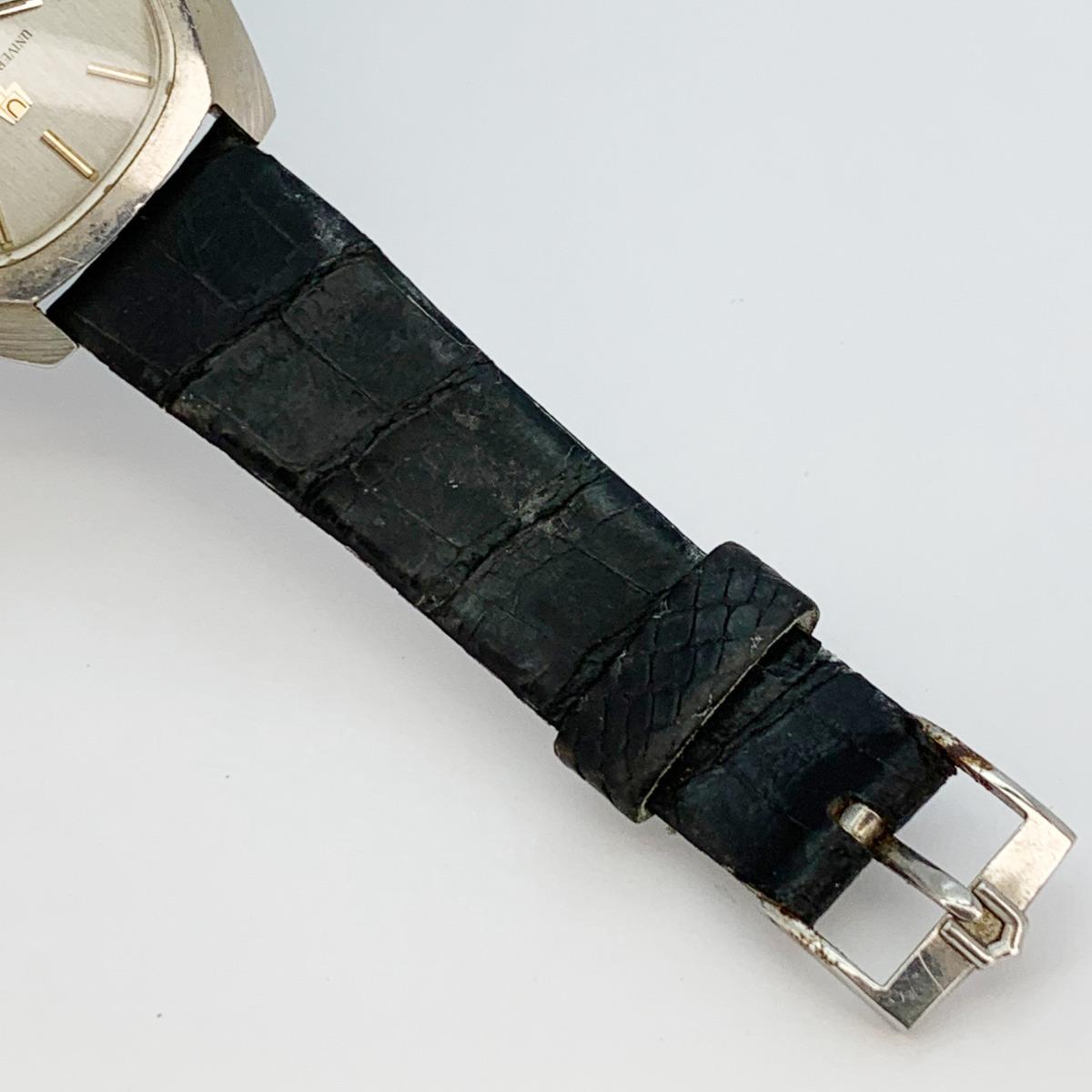 値下げ Universal Geneve ユニバーサルジュネーヴ 853106 Vintage Unisonic Men's Watch 音叉時計 メンズ U_画像5