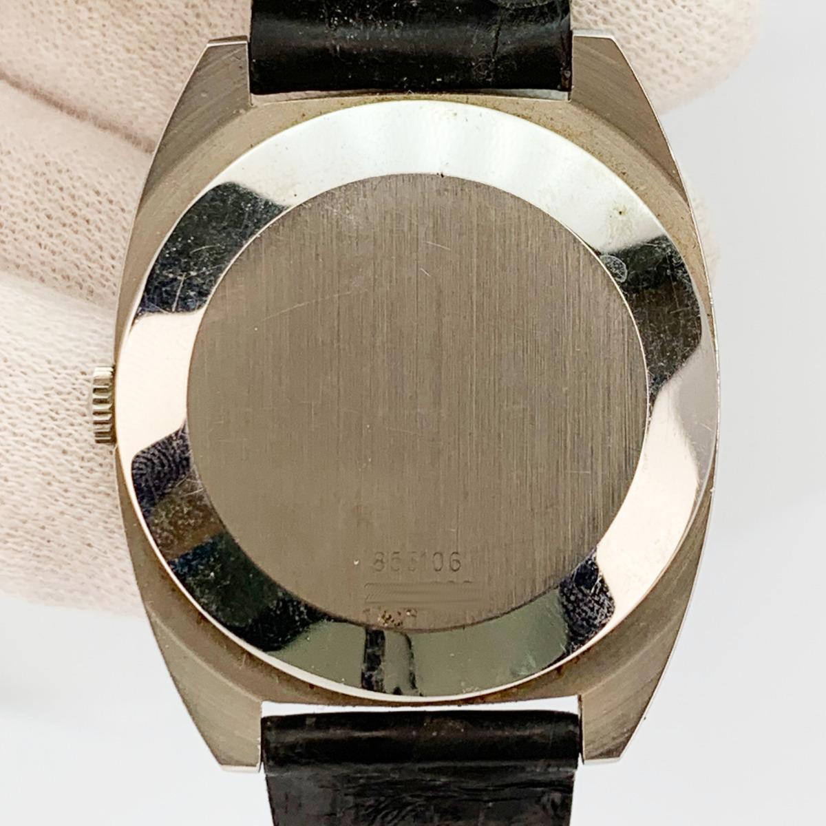 値下げ Universal Geneve ユニバーサルジュネーヴ 853106 Vintage Unisonic Men's Watch 音叉時計 メンズ U_画像2