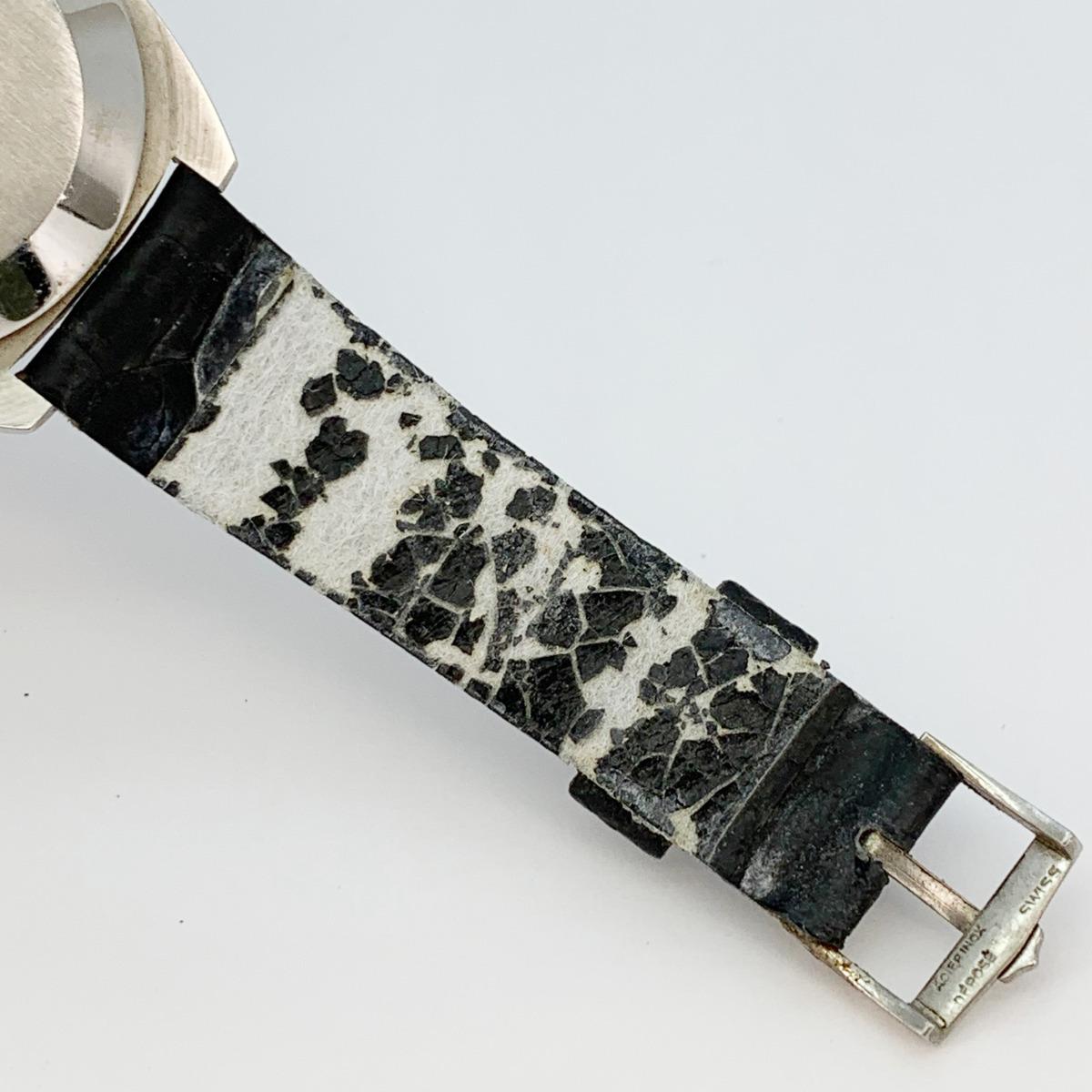 値下げ Universal Geneve ユニバーサルジュネーヴ 853106 Vintage Unisonic Men's Watch 音叉時計 メンズ U_画像6