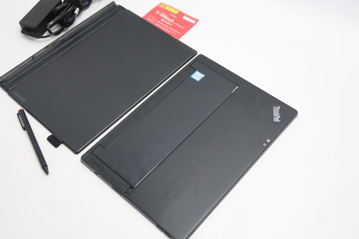 ■08-0201】 Office 付 Lenovo ThinkPad X1 Tablet 20JCS14U0N 第7世代 Core i5-7Y57-1.20GHz 8GB SSD 256GB 12型 Windows 10 タッチペン_画像8