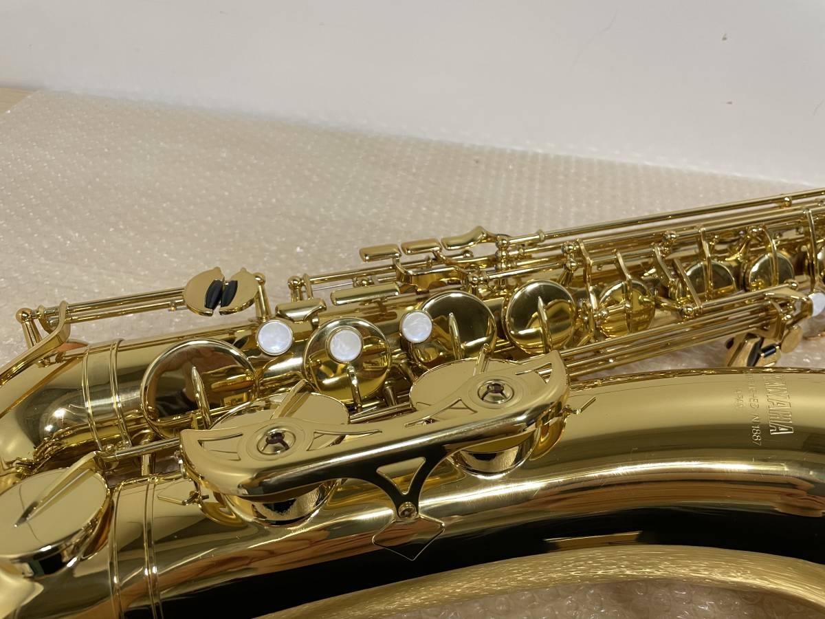 YAMAHA/ヤマハ/YTS-34II/テナーサックス/ESTABLISHED IN 1887/管楽器/ハードケース付/_画像4