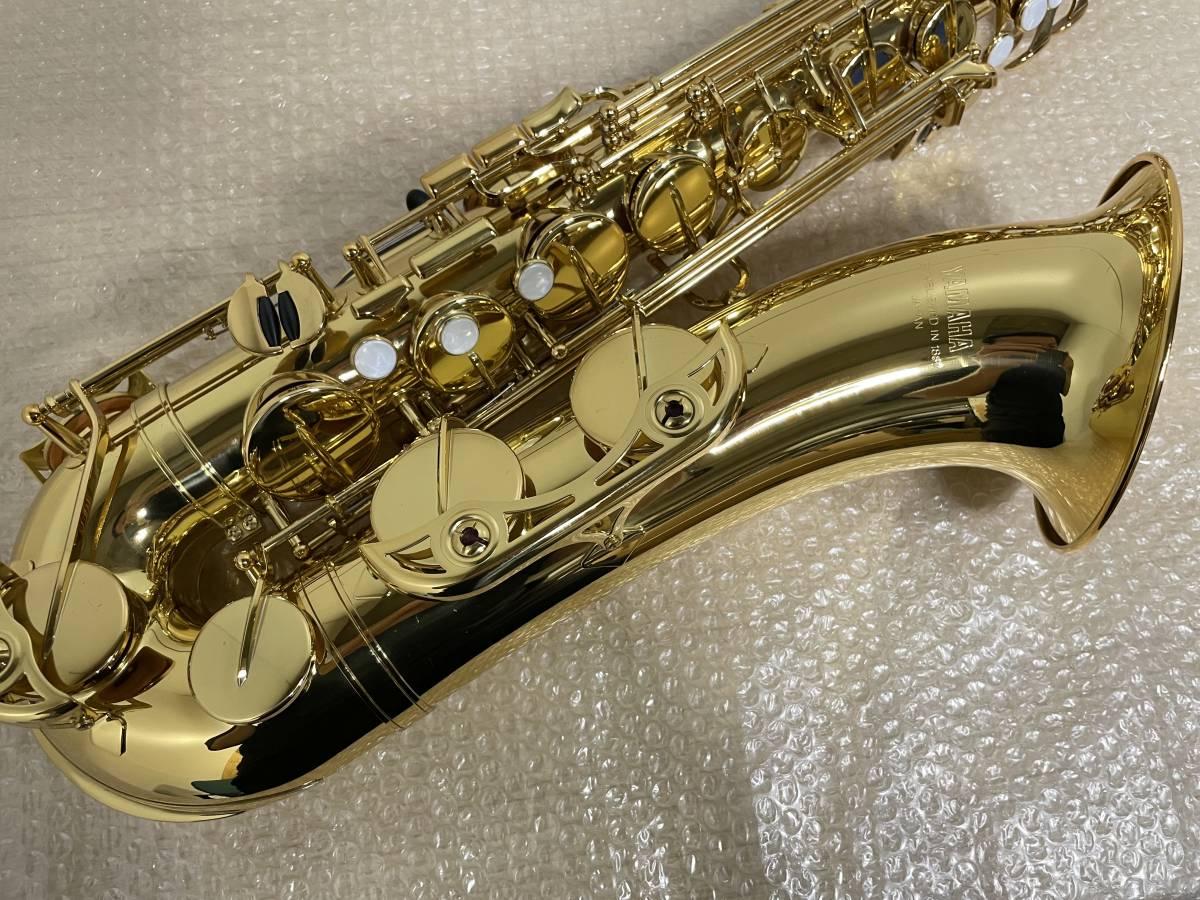 YAMAHA/ヤマハ/YTS-34II/テナーサックス/ESTABLISHED IN 1887/管楽器/ハードケース付/_画像5