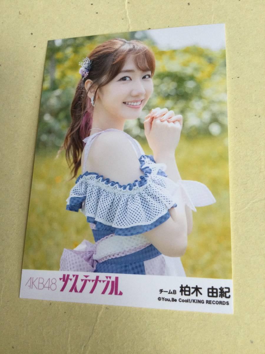 AKB48 サステナブル 劇場盤封入写真 チームB 柏木 由紀 他にも出品中 説明文必読_画像1