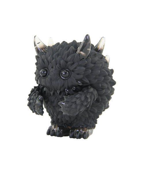 instinctoy Mini Monster Fluffy Black & Black Clear_画像1