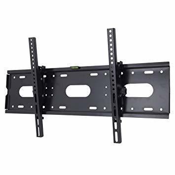 黒 テレビ壁掛け金具 JinXiang 42~85インチLCD LED液晶テレビ対応 左右平行移動式 上下角度調節可能 50 5_画像1