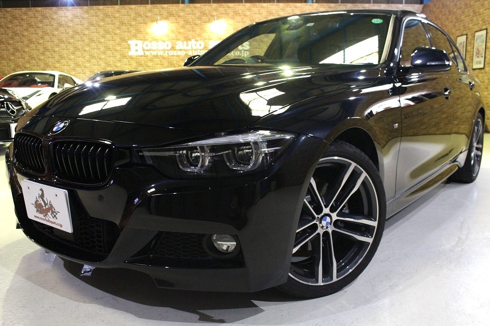 2018y BMW 3シリーズ 320d Mスポーツエディションシャドー限定車 33000キロ 黒革 1オーナー_画像1