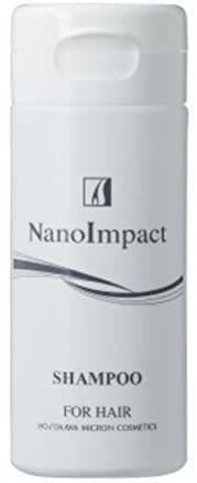 ◆中古品(お試し用) ホソカワミクロン二点セット 薬用ナノインパクトCo17(残量約20%)/薬用ナノインパクトシャンプー(残量約30%)_画像2