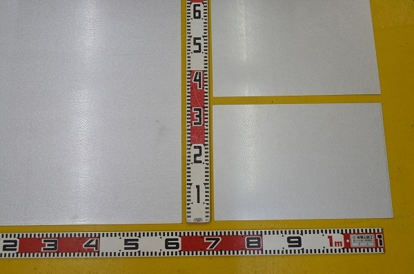 鉄 ガルバリュウム鋼板 (0.35~1.2mm厚)の(914x600~300x200mm)定寸・枚数販売 F11_画像3