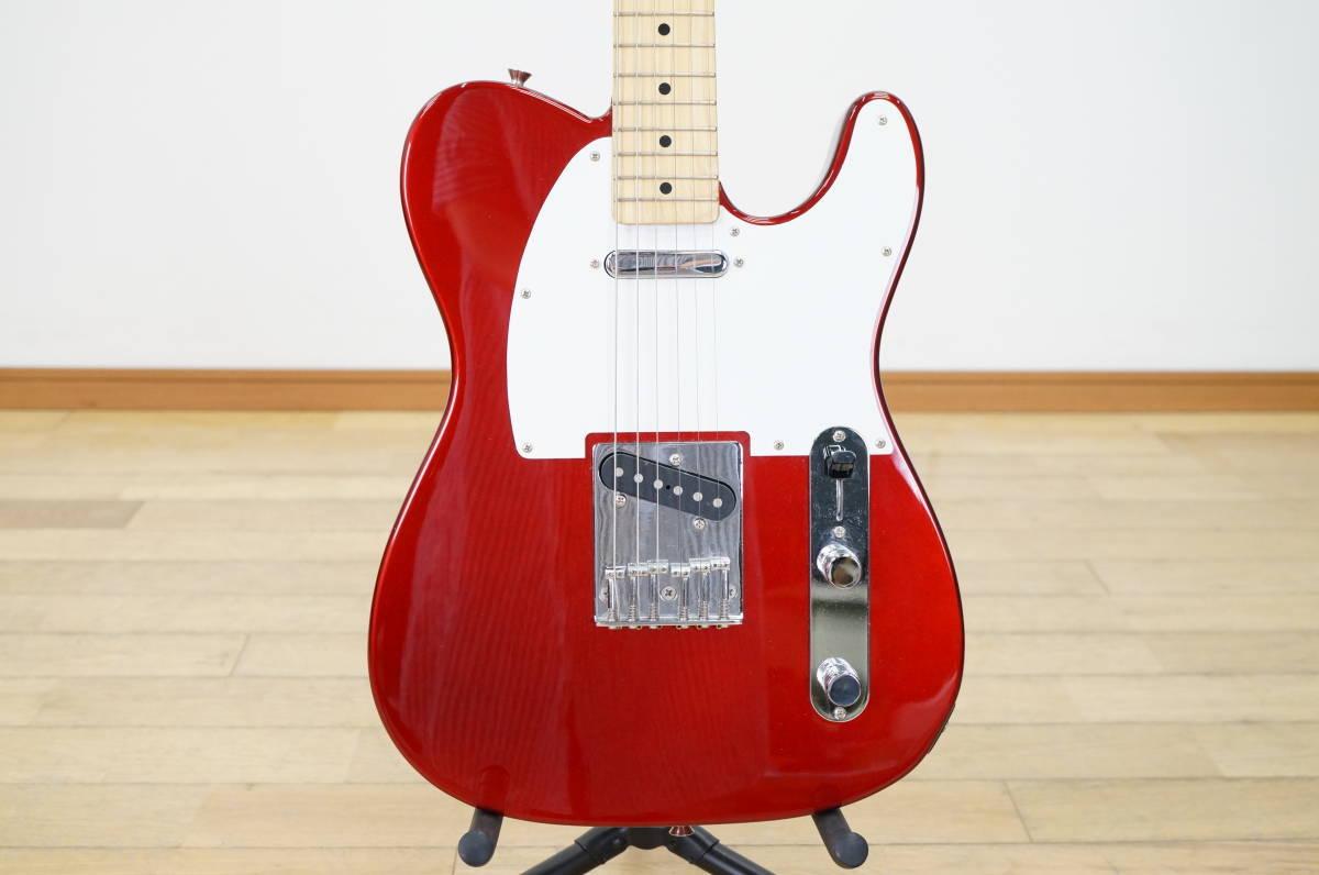【フェンダー/Fender】エレキギター テレキャスター 日本製 T0シリアル レッド系 赤系 Made in JAPAN Telecaster_画像6