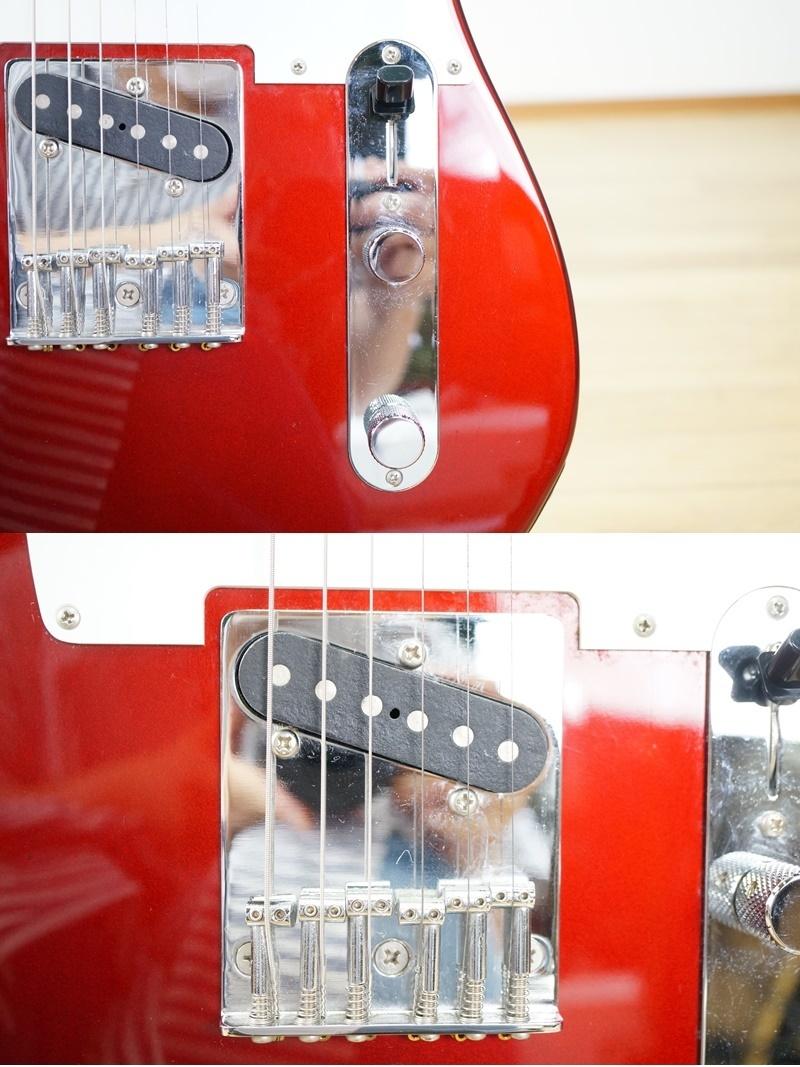【フェンダー/Fender】エレキギター テレキャスター 日本製 T0シリアル レッド系 赤系 Made in JAPAN Telecaster_画像7