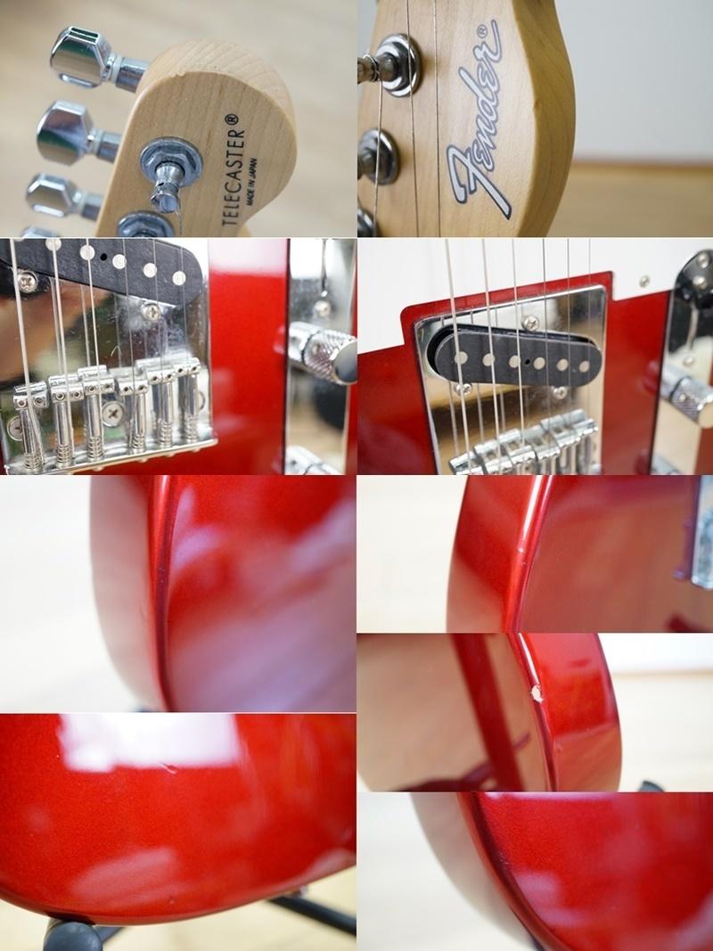 【フェンダー/Fender】エレキギター テレキャスター 日本製 T0シリアル レッド系 赤系 Made in JAPAN Telecaster_画像9