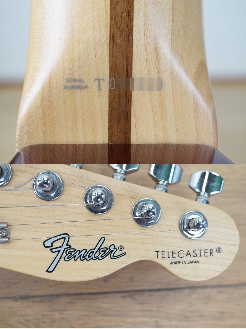 【フェンダー/Fender】エレキギター テレキャスター 日本製 T0シリアル レッド系 赤系 Made in JAPAN Telecaster_画像10