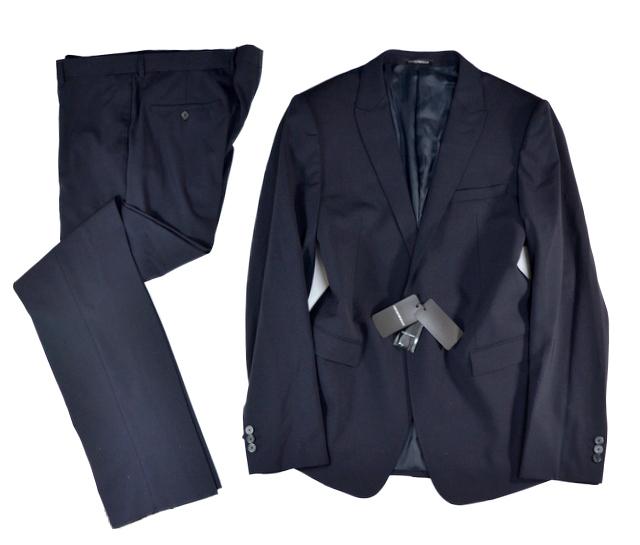 新品 DAVID LINE ジョルジオアルマーニジャパン社 ARMANI アルマーニ 大きめ メンズ 紳士 ビジネス テーラード ブレザー パンツ スーツ 56