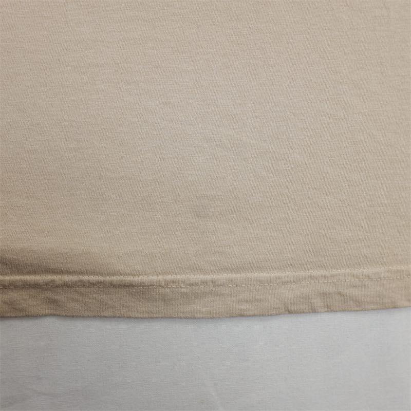 メンズUS-XXLサイズ Polo by Ralph Lauren ポロラルフローレン クルーネック半袖ワンポイントロゴTシャツ ベージュ系 ポニー刺繍 as-0192n_画像8