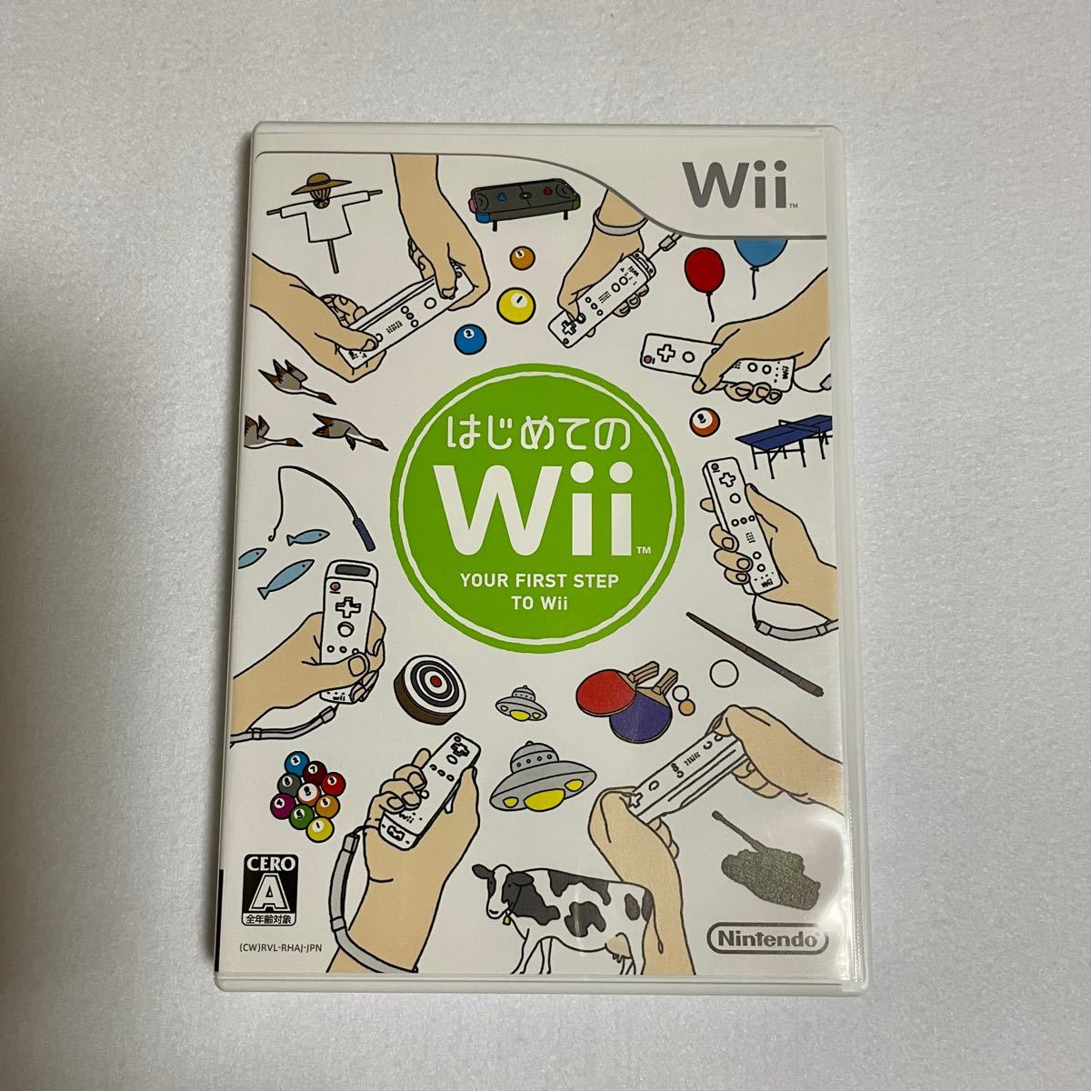 wii はじめてのWii Wiiソフト