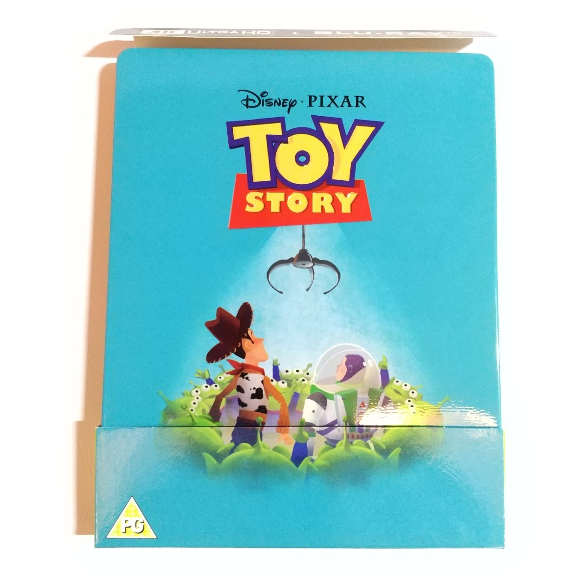 ディズニー ピクサー トイストーリー スチールブック 4K Ultra HD+Blu-ray 日本語あり
