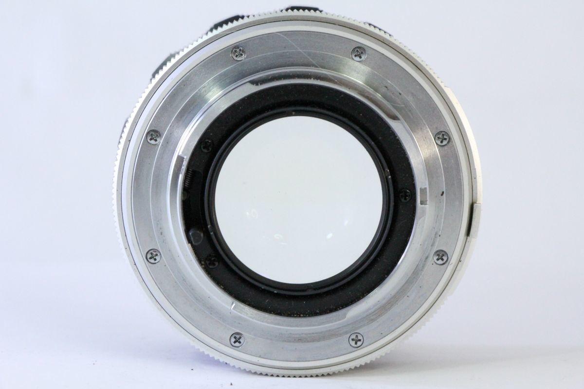 実用★ミノルタ MINOLTA MC ROKKOR-PF 58mm F1.4★くもり★9574_画像3