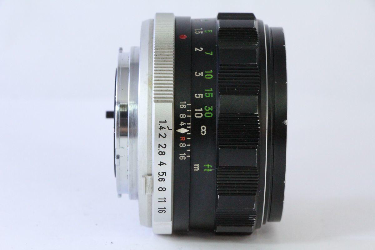 実用★ミノルタ MINOLTA MC ROKKOR-PF 58mm F1.4★くもり★9574_画像2