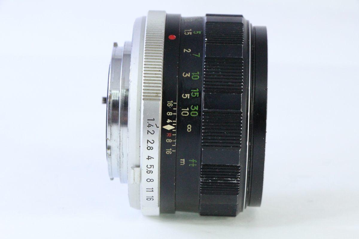 実用★ミノルタ MINOLTA MC ROKKOR-PF 58mm F1.4★スレキズ・光学綺麗★ZZZ 131_画像2