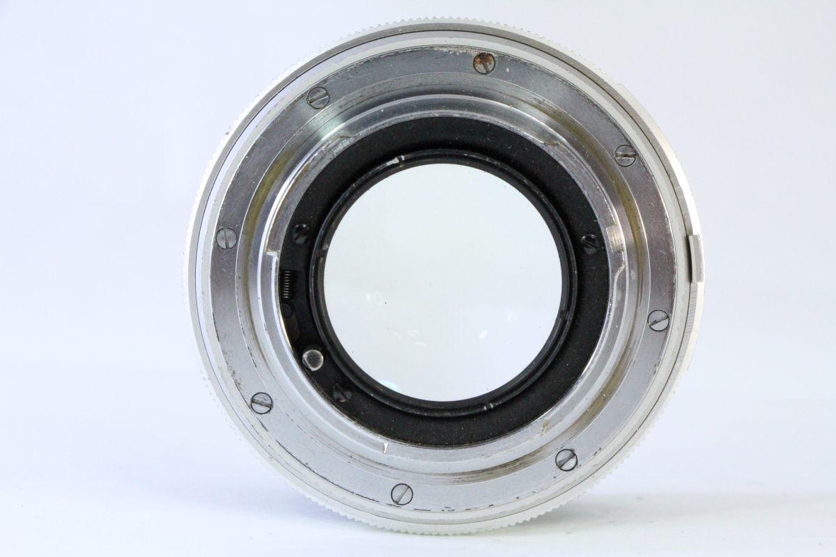 実用★ミノルタ MINOLTA MC ROKKOR-PF 58mm F1.4★スレキズ・光学綺麗★ZZZ 131_画像3