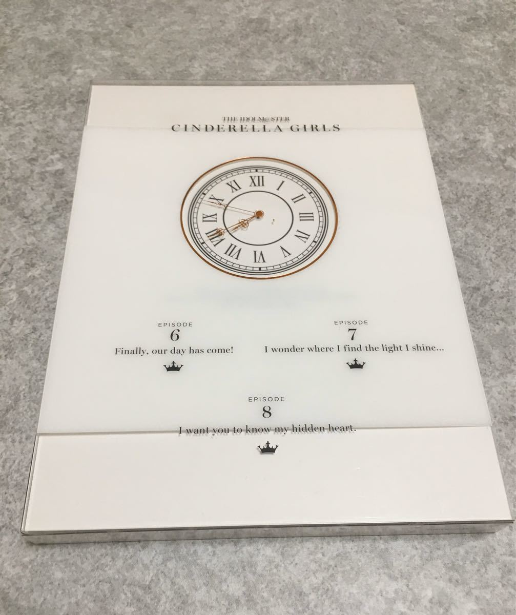 ブルーレイ アイドルマスター シンデレラガールズ 3完全生産限定版