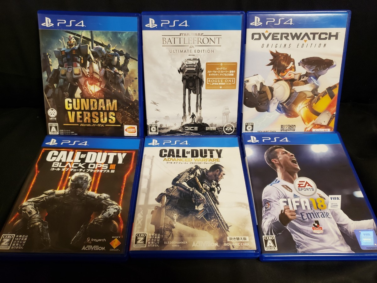 PS4ソフト 6本セット