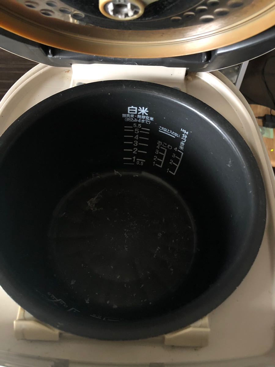日立 HITACHI☆IH炊飯ジャー圧力IH2008年製RZ-HF10E5J 炊飯器5.5合