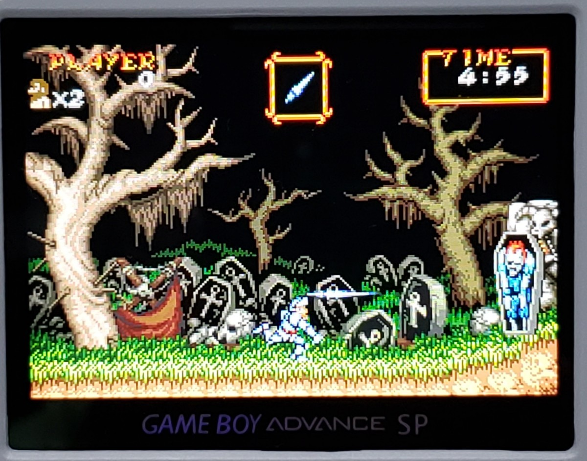 GBA SUPER GHOULS GHOSTS 魔界村R 海外版  ゲームボーイアドバンスソフト