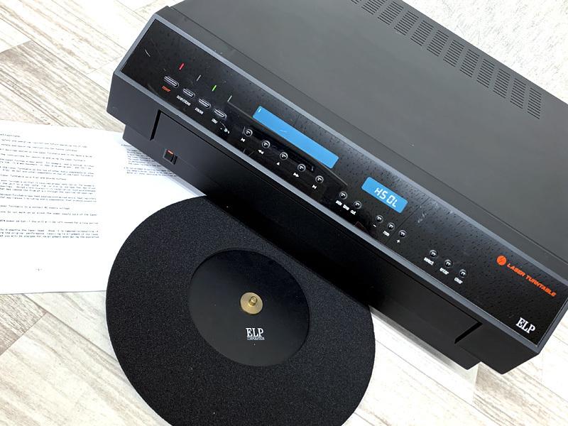 ■ELP LT-1LA レーザーターンテーブル レーザーレコードプレーヤー エルプ■