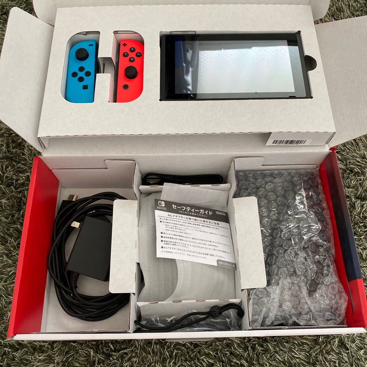 Nintendo Switch ネオンブルー ネオンレッド ニンテンドースイッチ