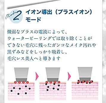 白 SLOTRE ウォーターピーリング 美顔器 超音波 ピーリング イオン導入 イオン導出 黒ずみ ケア EMS 毛穴 角栓 角_画像4
